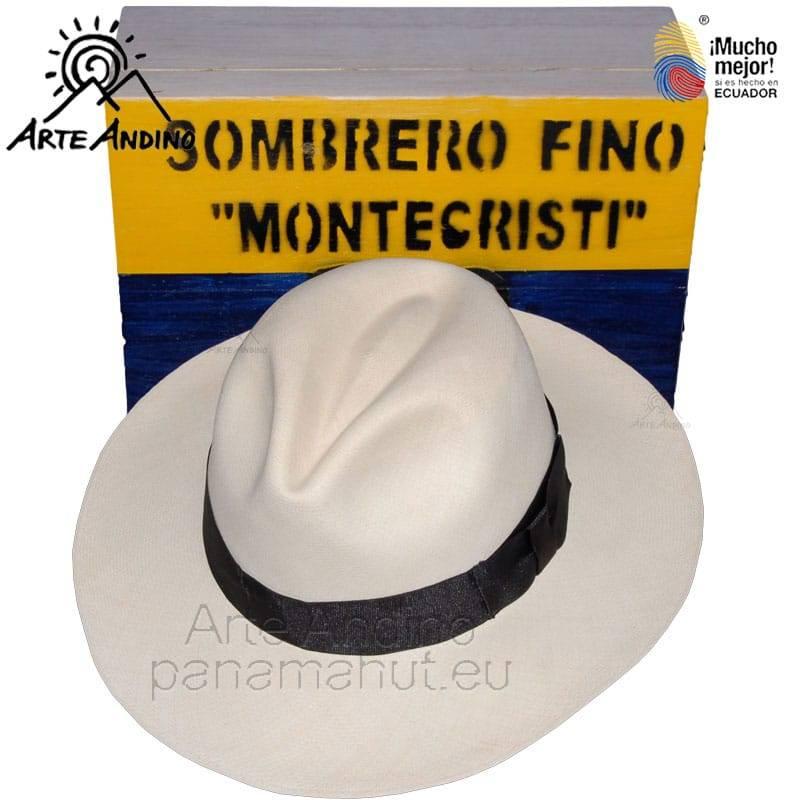 !!! PANAMA HUT MONTECRISTI NEU Original aus ECUADOR Größe 58 cm oder 59 cm